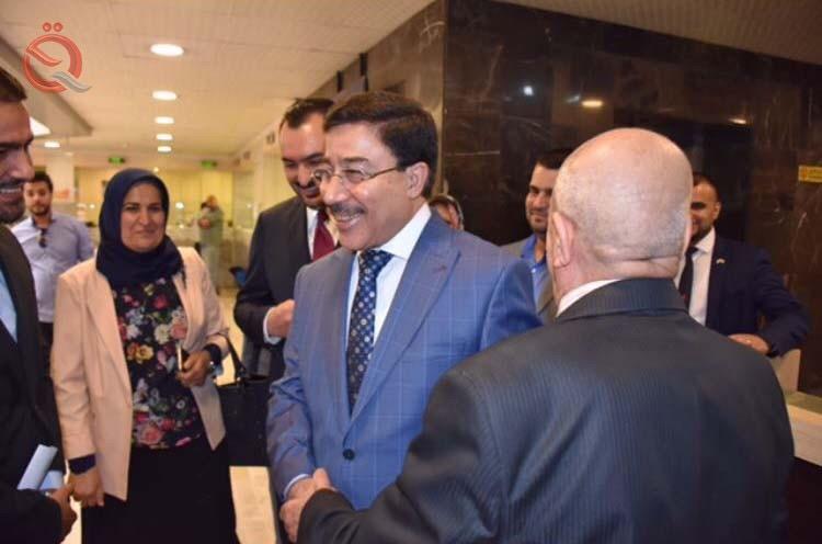 Image result for Central Bank Governor Ali- al Alak pics